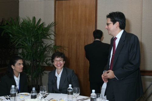(6 March 2009) Luncheon with Chairman of DBS Group Holdings - 9