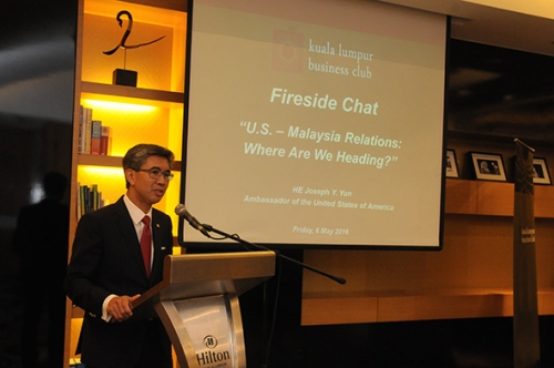 (6 May 2016) KLBC Fireside Chat with HE Joseph Y Yun, US Ambassador - 3