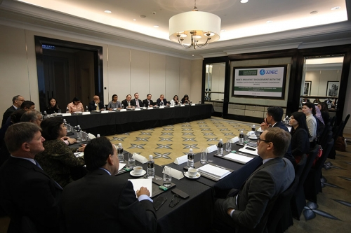 KLBC's Breakfast Engagement with the National Center for APEC 15