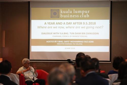 KLBC Dialogue with YABhg Tun Daim 1