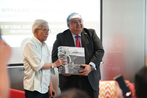 KLBC Dialogue with YABhg Tun Daim 12