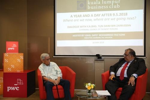 KLBC Dialogue with YABhg Tun Daim 7